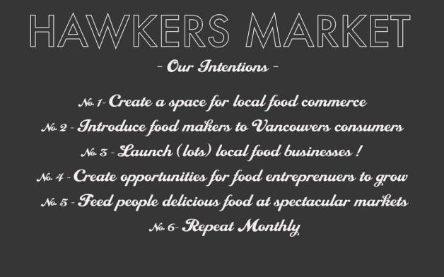Hawkers Intentions